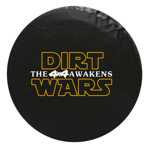 Dirt Wars - Style Vinyl Spare Tire Cover