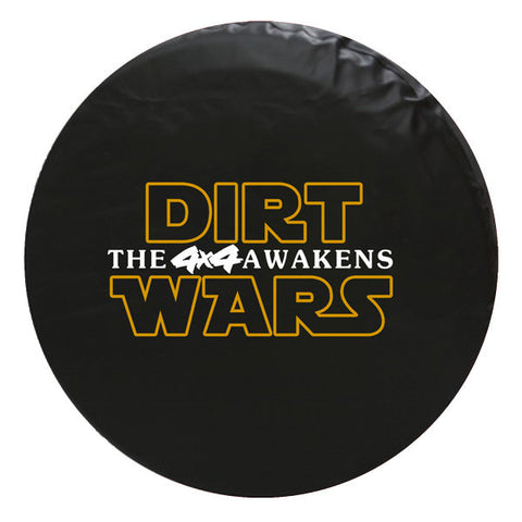 Dirt Wars - Star Wars Style Vinyl Spare Tire Cover