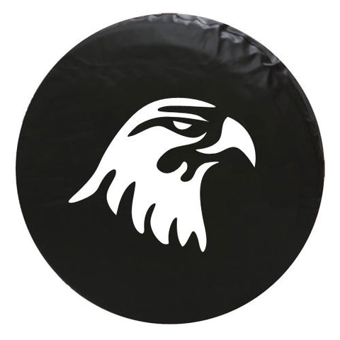 Eagle Head Vinyl Spare Tire Cover
