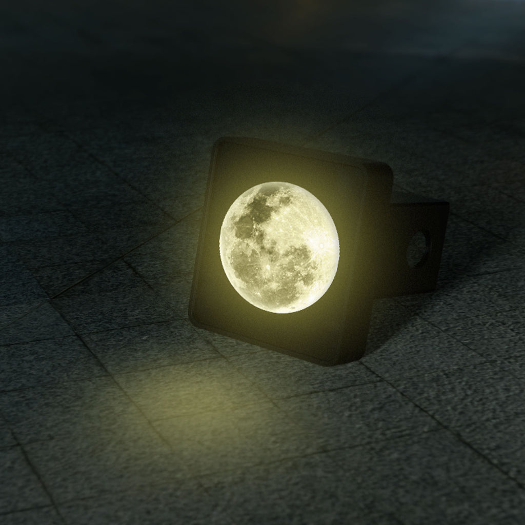 Lunar Moon Illuminated LED Hitch Cover Running Light