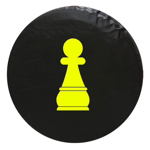 Paun Chess Piece Vinyl Spare Tire Cover