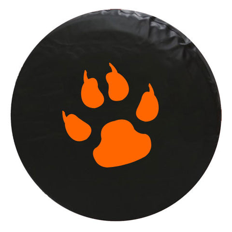 Paw Claw Print Vinyl Spare Tire Cover
