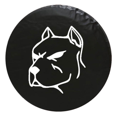 Pitbull Vinyl Spare Tire Cover