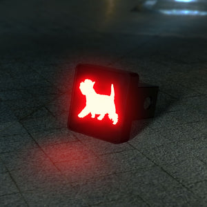 Westie - West Highland Terrier LED Brake Hitch Cover