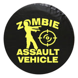 Zombie Walking Dead Theme Vinyl Spare Tire Cover
