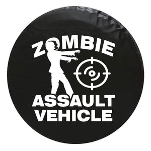 Zombie Assault Vehicle Vinyl Spare Tire Cover