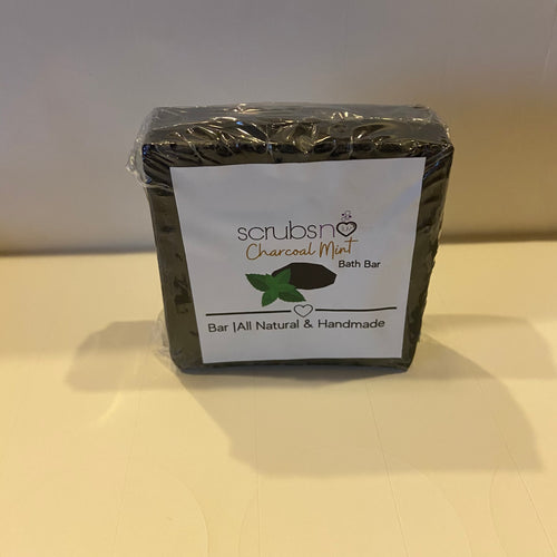 Charcoal Mint Bath Bar