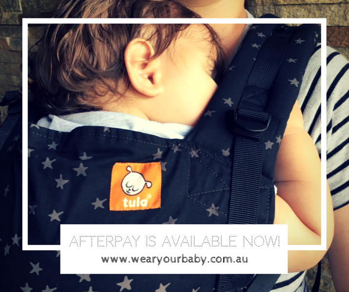 Wear Your Baby now has Afterpay!
