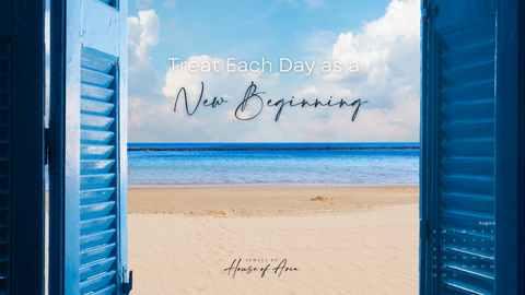 Positive quotes each day is a new beginning