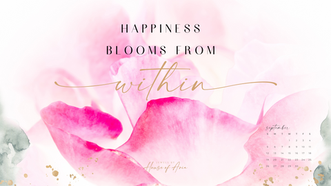 Uplifting quote - Happiness comes from within