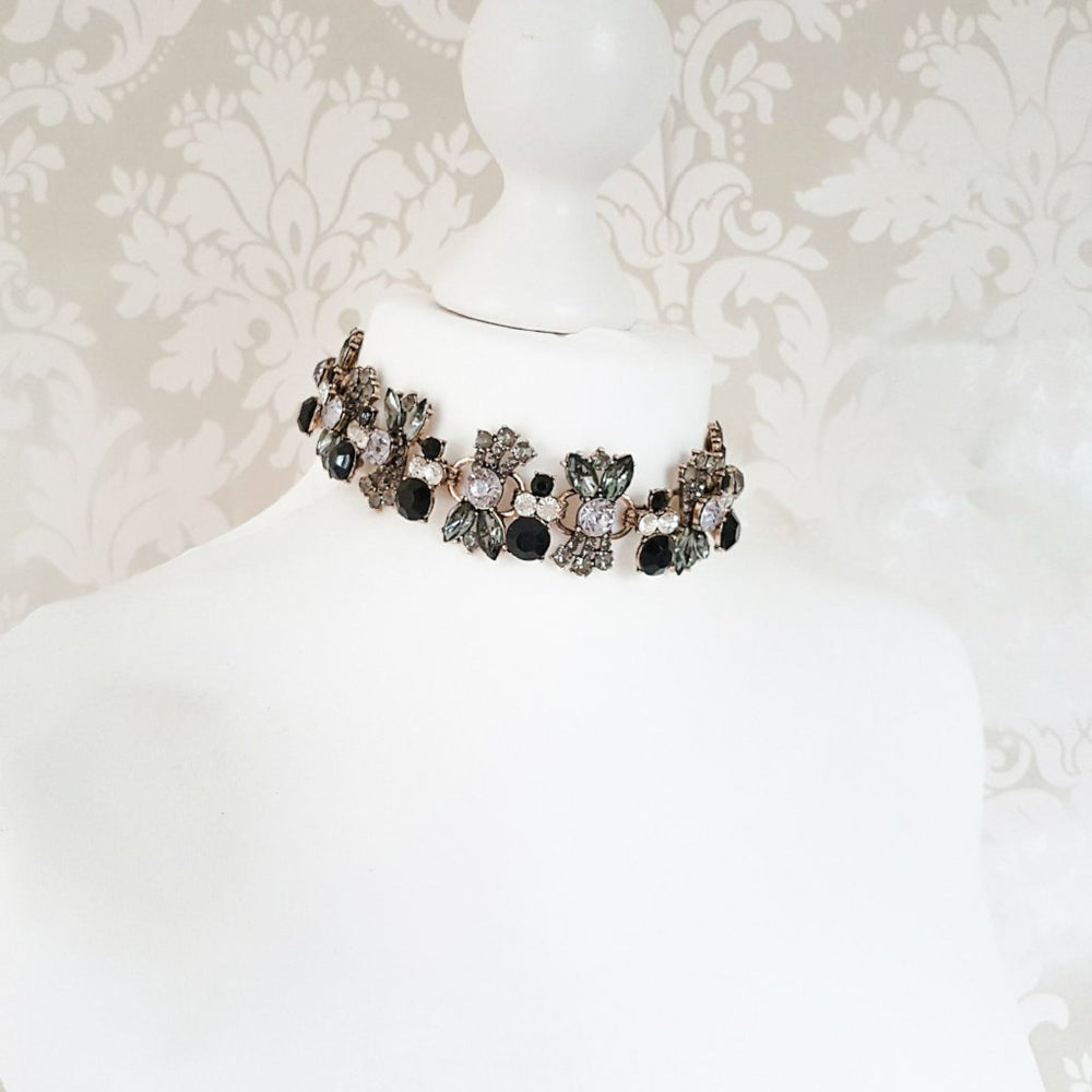 womens statement choker necklace