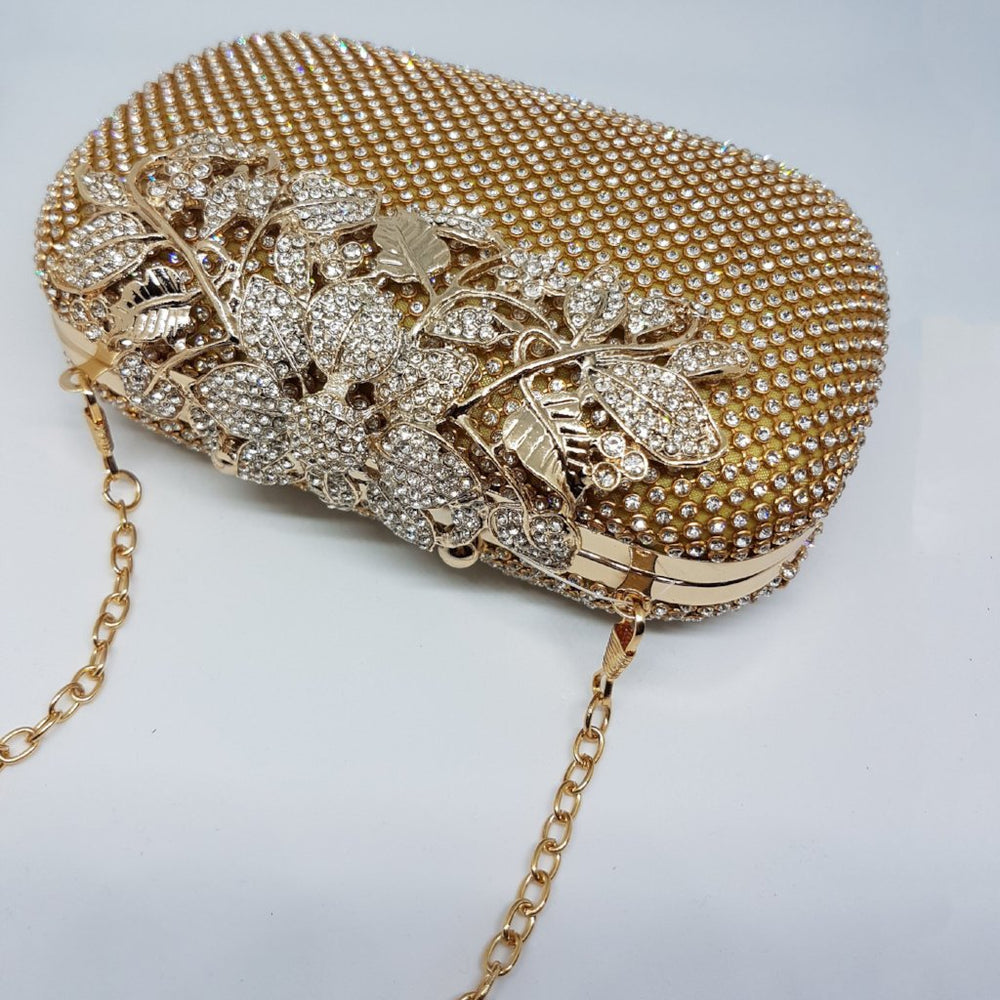 womens gold bag for special occassion