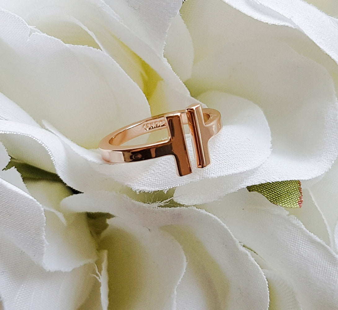 gold chunky ring for bridesmaid gifts