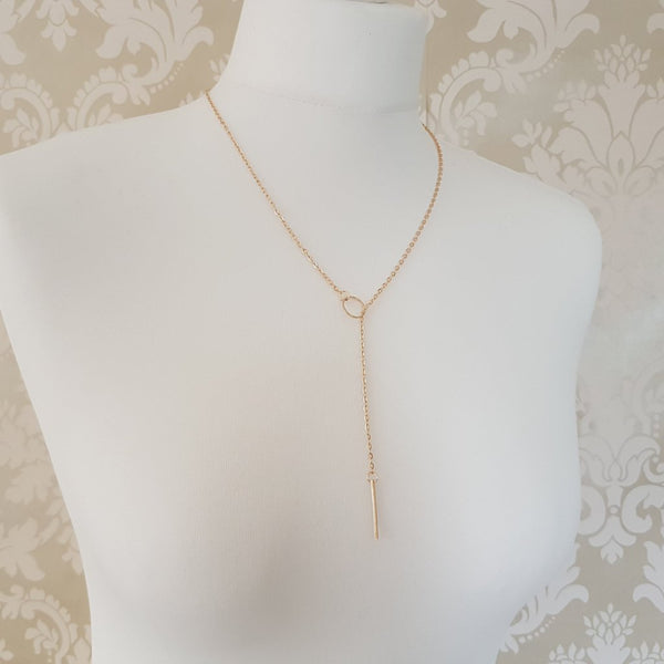 MYA Bar Necklace (Gold & Silver)