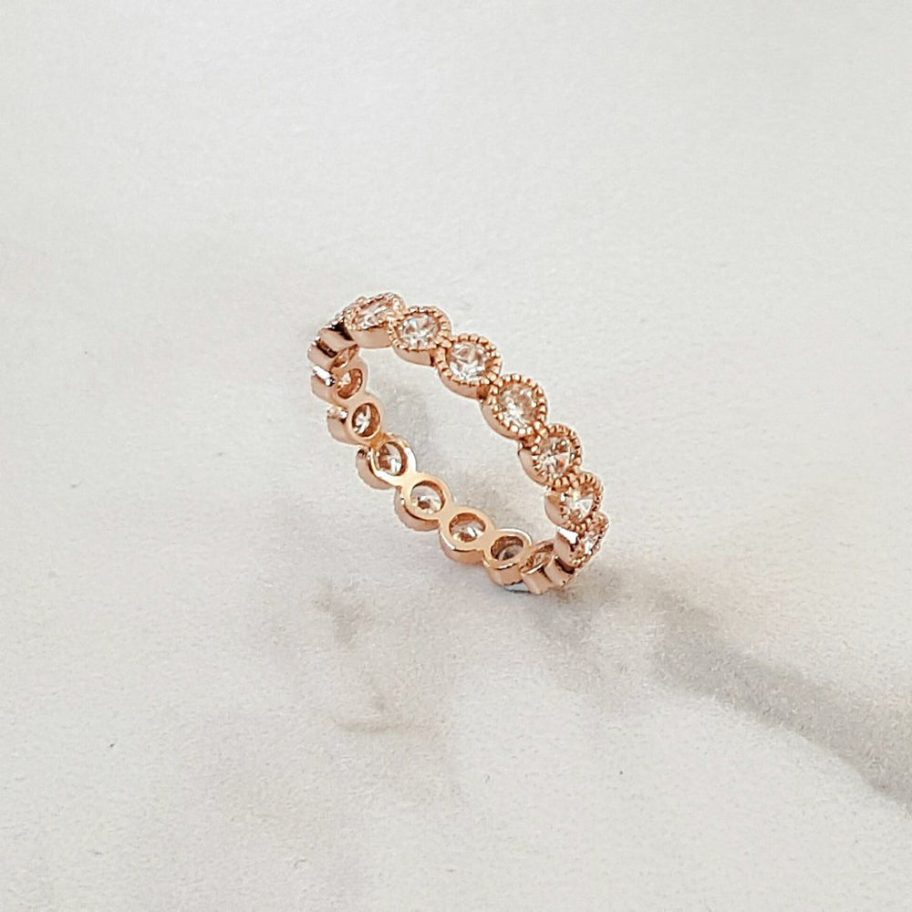 womens rose gold ring