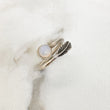 Moonstone sterling silver ring for her. Perfect gift for a special occasion