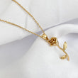 ETERNAL Rose Stem Dainty Necklace (Gold / Rose Gold / Silver)