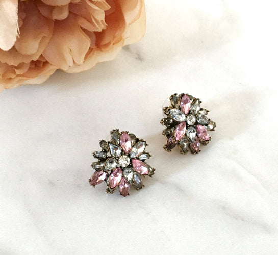ANA Pink Stud Earrings