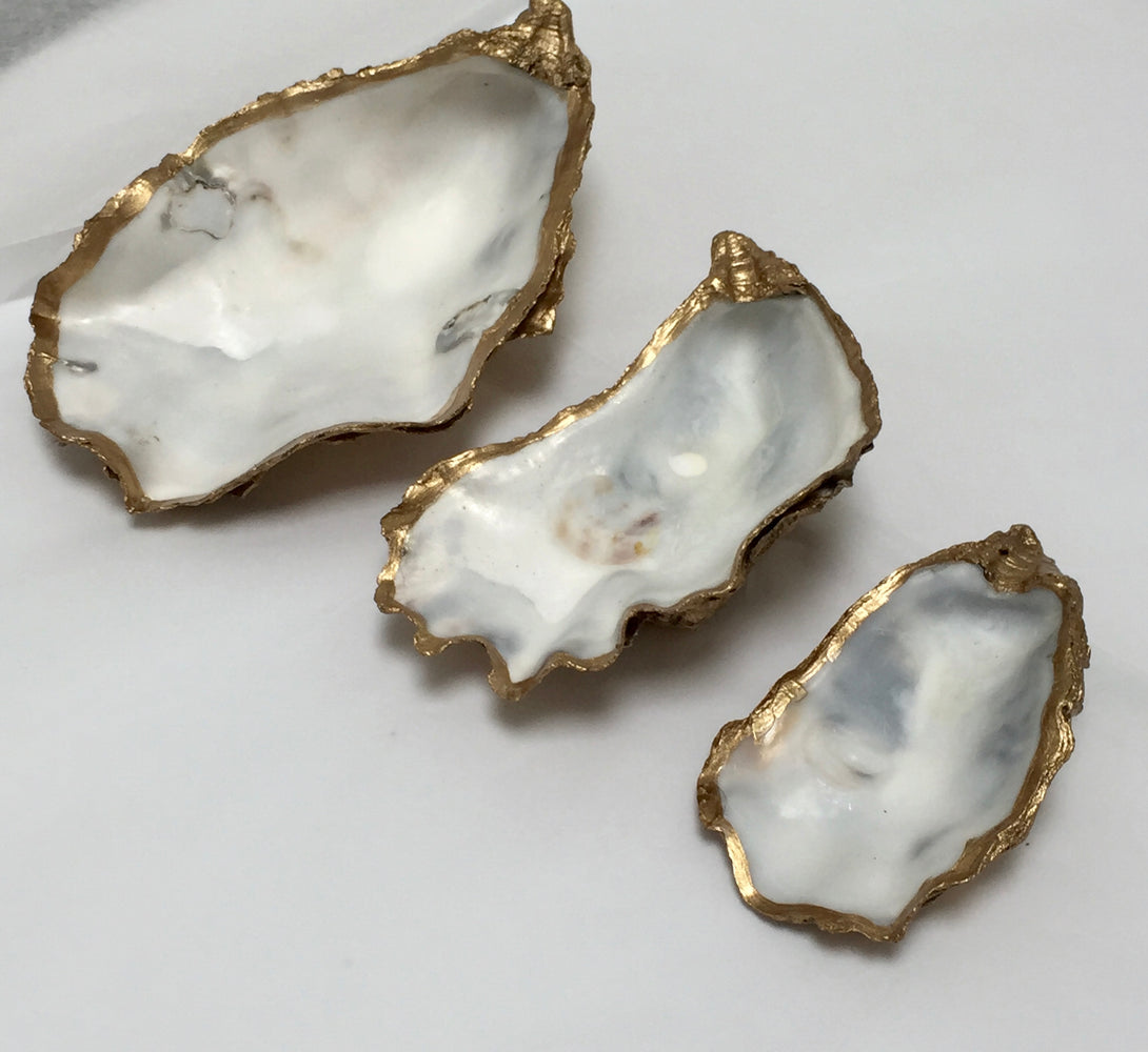 oyster jewellery dish