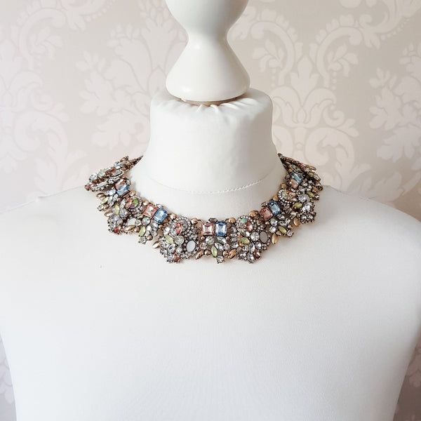 ASHA Pastel Statement Necklace