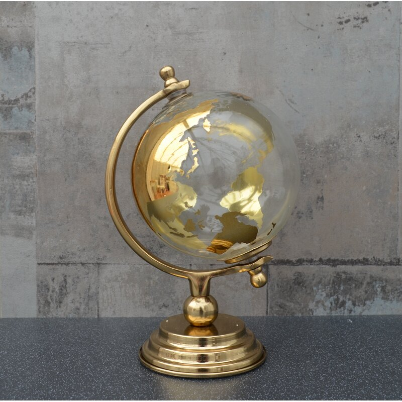 Gold Glass Globe