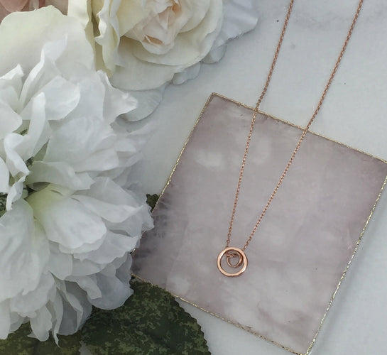 Ladies Rose Gold Jewellery