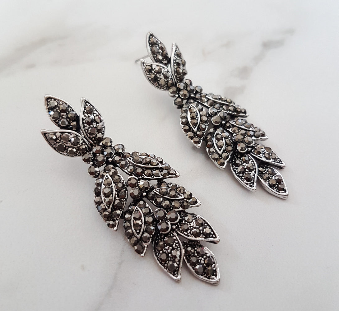 Women's fancy earrings for evening wear or bridesmaid gifts