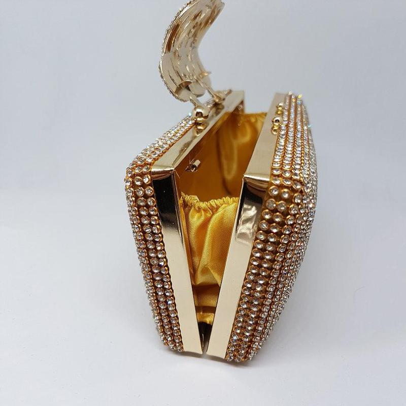 designer gold bag women ladies girls