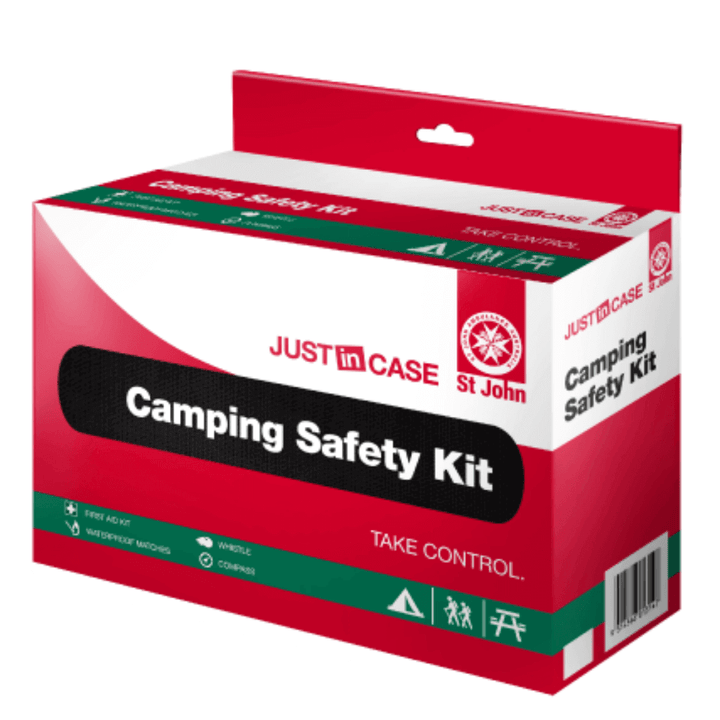 St John Ambulance Camping Safety First Aid Kit - First Aid Kit - St John Ambulance - FeverMates