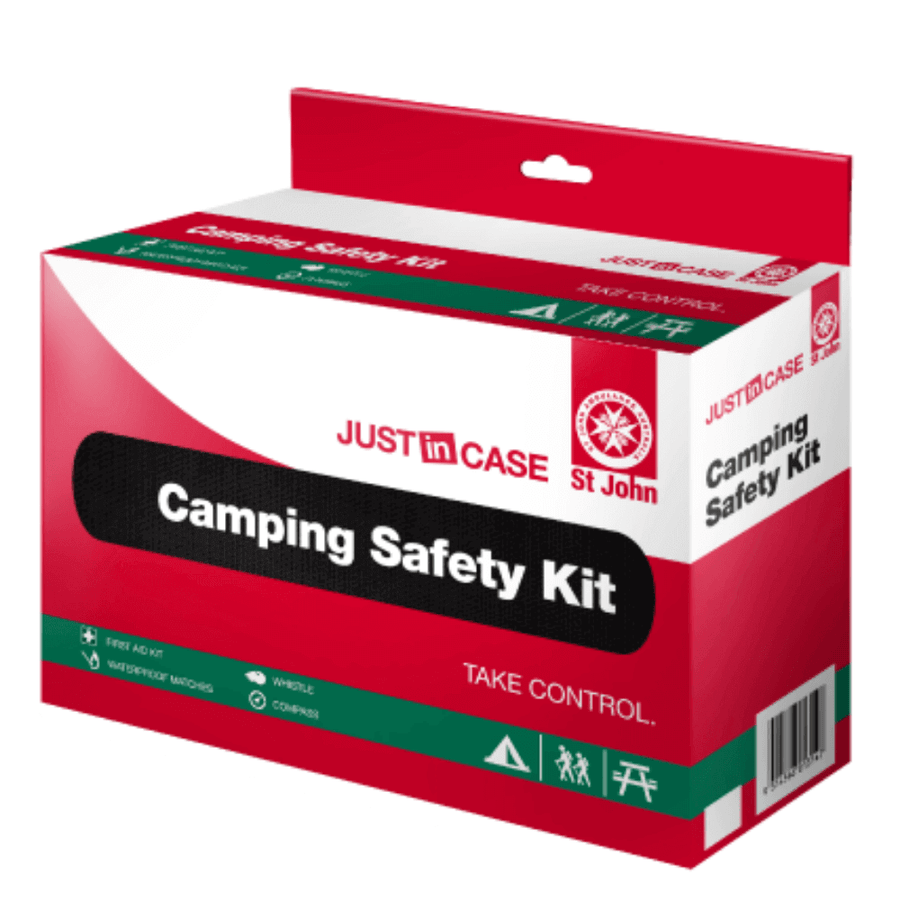camping safety kit, st john, first aid, first aid kit, medical kit, emergency kit, safety kit, family kit, camping, outdoor safety, doctors kit