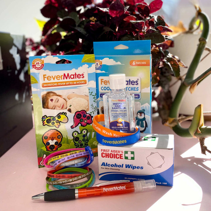 School Care Pack - Care Bundles - FeverMates - FeverMates