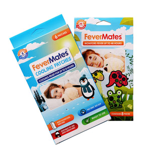 FeverMates Fever Monitor & Cooling Patch Bundle - Monitor & Cooling Patch Bundle - FeverMates - FeverMates