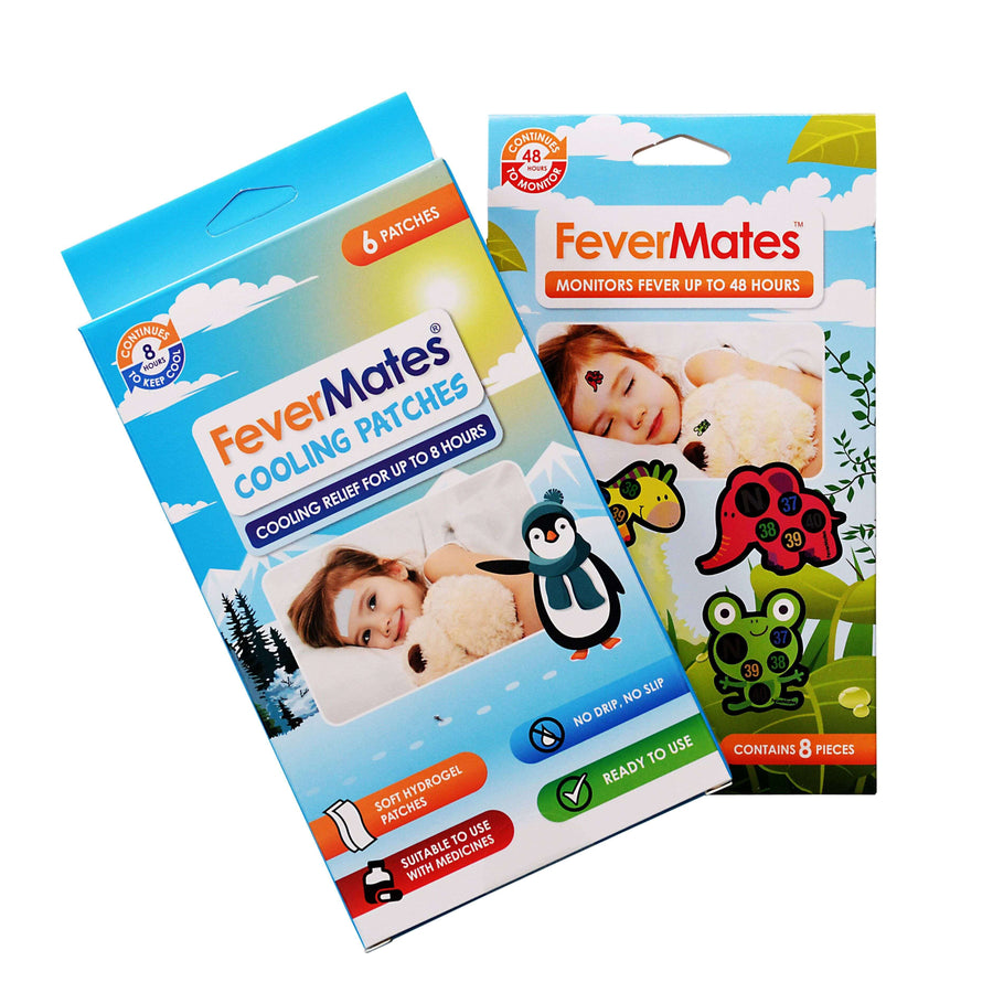 FeverMates Fever Monitor & Cooling Patch Bundle - Monitor & Cooling Patch Bundle - Hand sanitiser Australia, forehead thermometer, baby temperature, hand sanitiser, hand sanitiser online australia, hand sanitisers and wipes,
