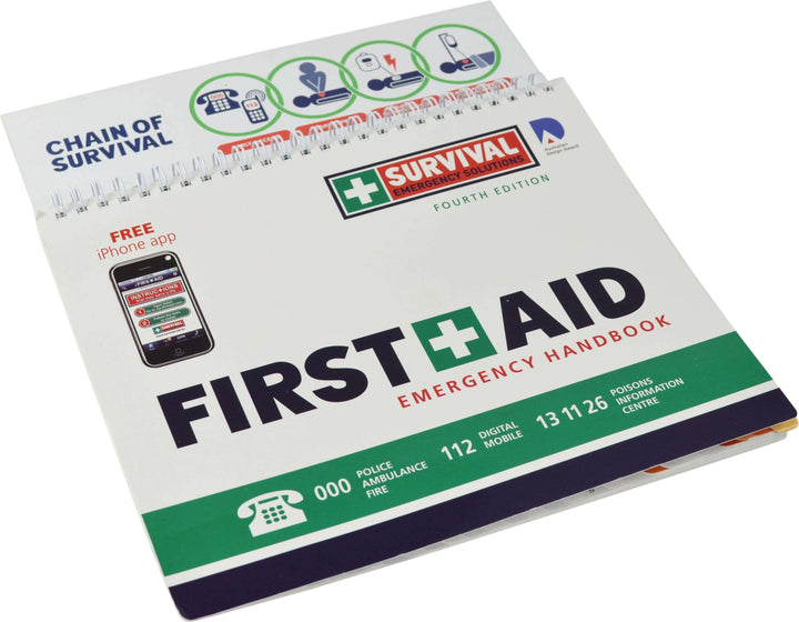 First Aid Emergency Handbook by Survival Emergency Solutions - First Aid Kit - FeverMates - FeverMates