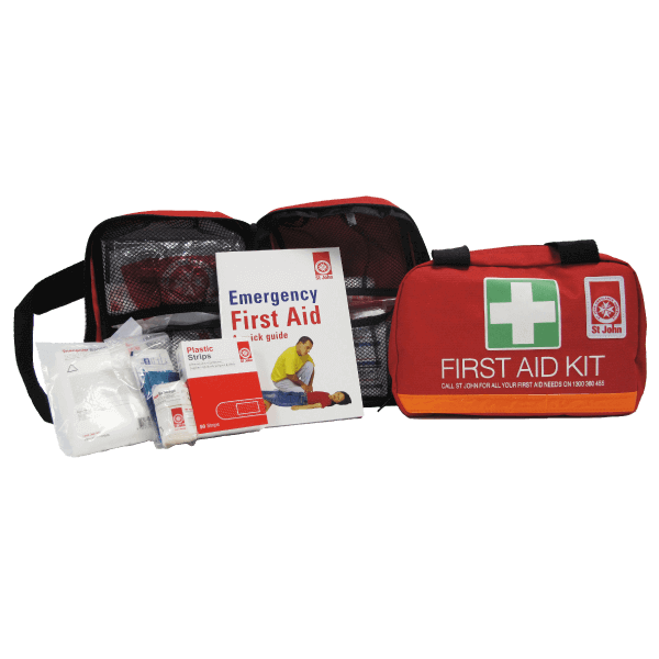 first aid kit st john, first aid kit australia, emergency first aid, first aid kit, gauze swabs, eye pads, gloves, workplace first aid kit, first aid