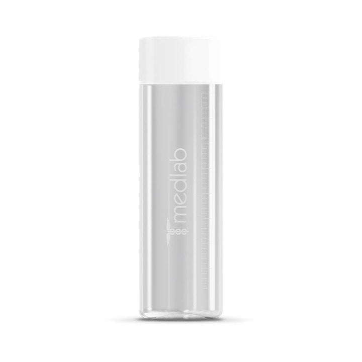MEDLAB GLASS WATER BOTTLE - nutraceuticals - Medlab, Medlab, australian vitamins, vitamin d, vitamin b12, vitamin c, probiotics, vitamin d benefits, vitamin b12 benefits,