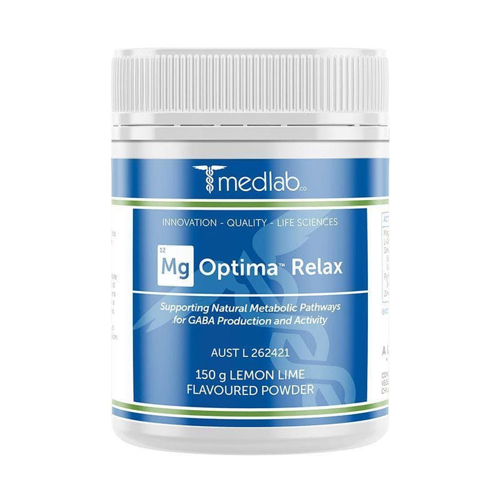 Medlab Mg Optima Relax (150g) Magnesium Supplement - nutraceuticals - Medlab - FeverMates