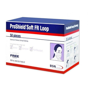Proshield Soft FR Loop Face Mask Level 2 Box/50 - Face Masks - FeverMates - FeverMates