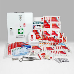St John First Aid Kit (National Workplace Kit Wallmount) - First Aid Kit - St John Ambulance - FeverMates