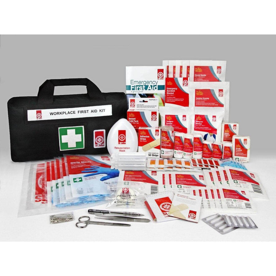St John Waistbag Workplace First Aid Kit - FeverMates