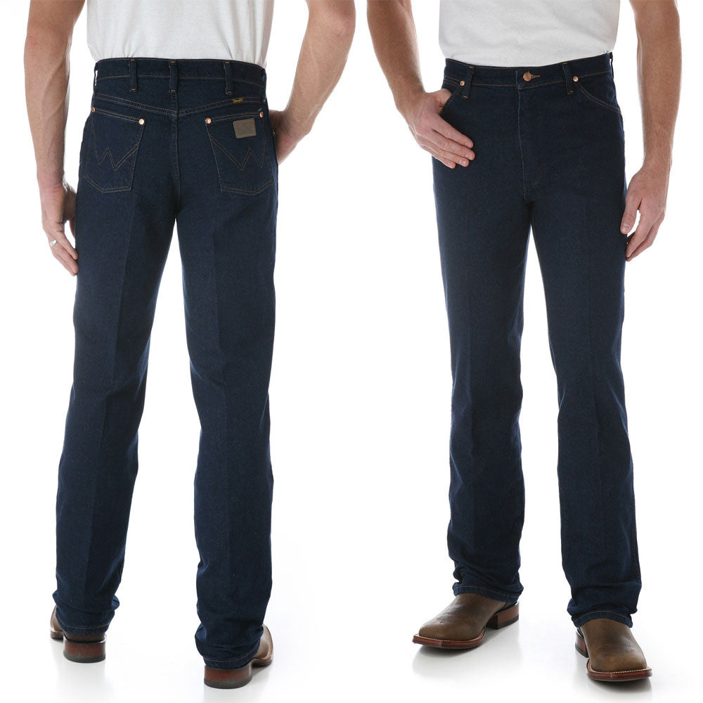 Wrangler Cowboy Cut Stretch Regular Fit Jeans 34 Leg