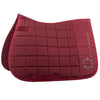 Bree Pony Saddle Pad -Maroon