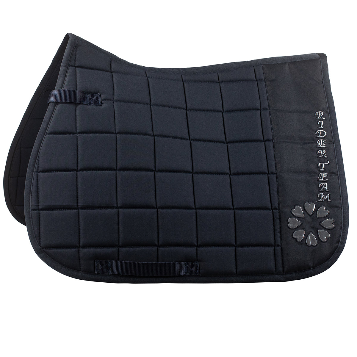 Bree Pony Saddle Pad - Navy