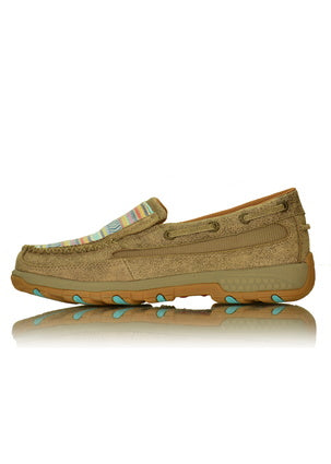 Women's Twisted X Aztex Slip on Mocs