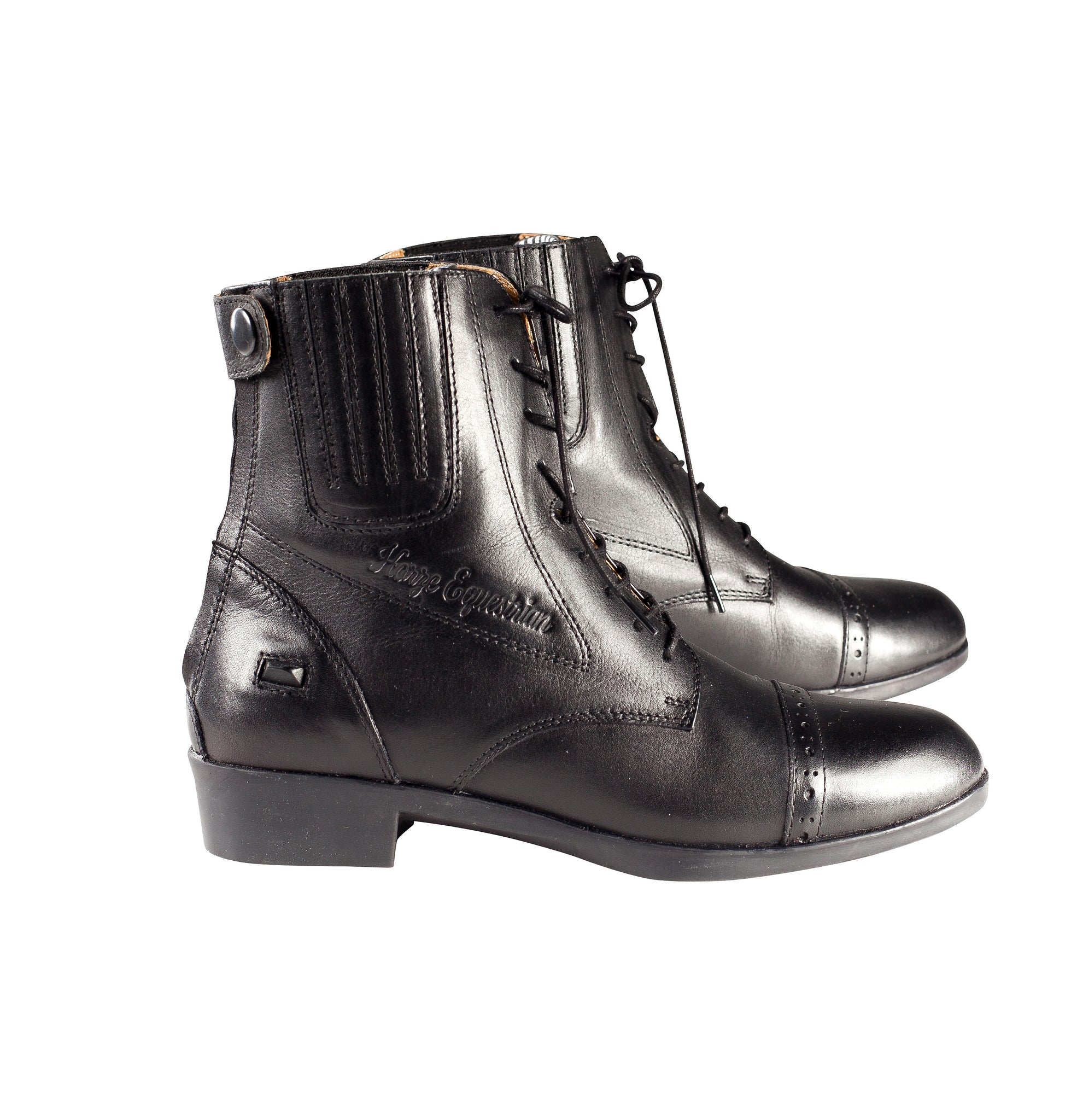 Hampton Leather Jodhpur boot