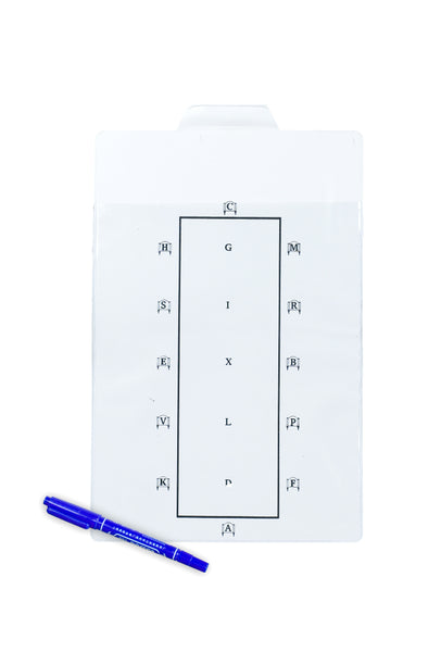 Dressage Test Learner Board