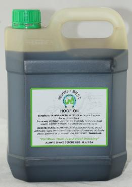 Worlds Best Hoof Oil 4L
