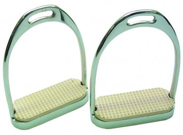 Chrome Knife Edge Stirrups