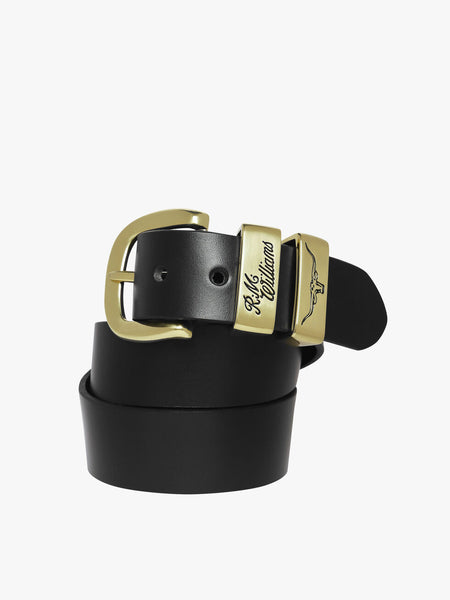 R.M.Williams 3 Piece Belt Black