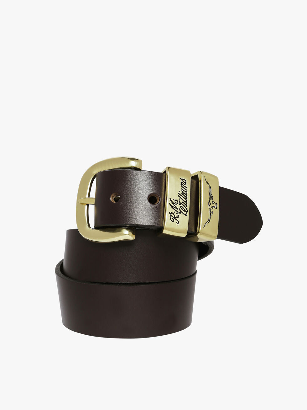 R.M.Williams 3 Piece Belt Chestnut